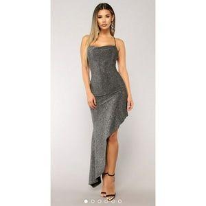 Fashion nova high-low dress